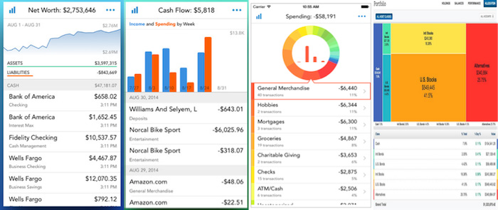 personal capital app view